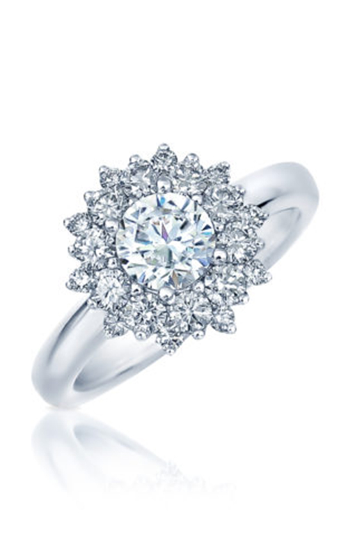 Frederic Sage Halo Engagement ring RM4477-4-W product image