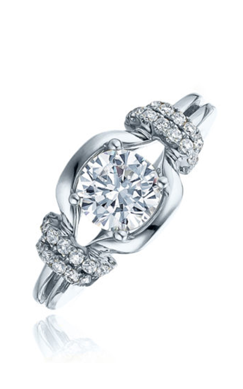 Frederic Sage Sage Solitaire Engagement ring RM196-W product image