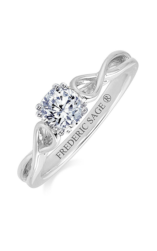 Frederic Sage Sage Solitaire Engagement ring RM4107-W product image