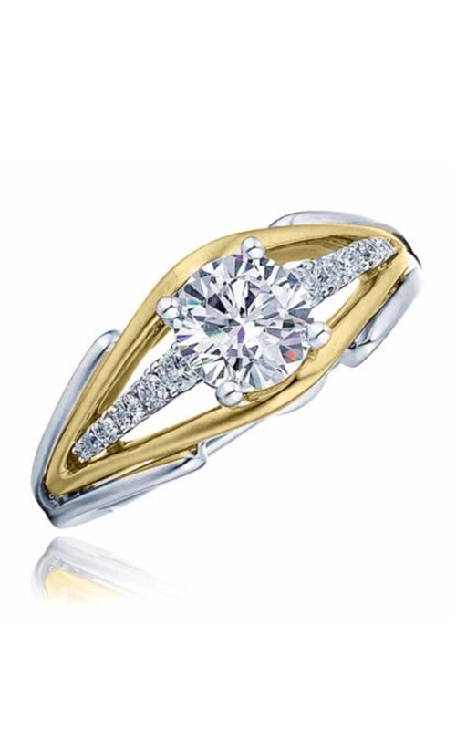 Frederic Sage Unique Engagement ring RM4211-4-WY product image