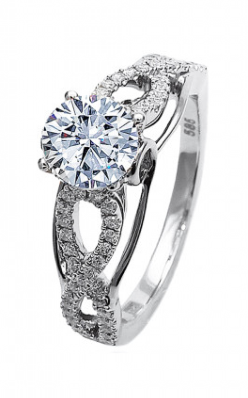 Frederic Sage Sage Solitaire Engagement ring RM4801-4-W product image