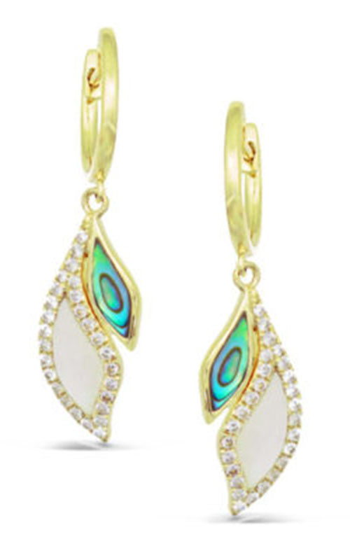 Frederic Sage Natural Shells Earrings E2491AW-YAWM product image