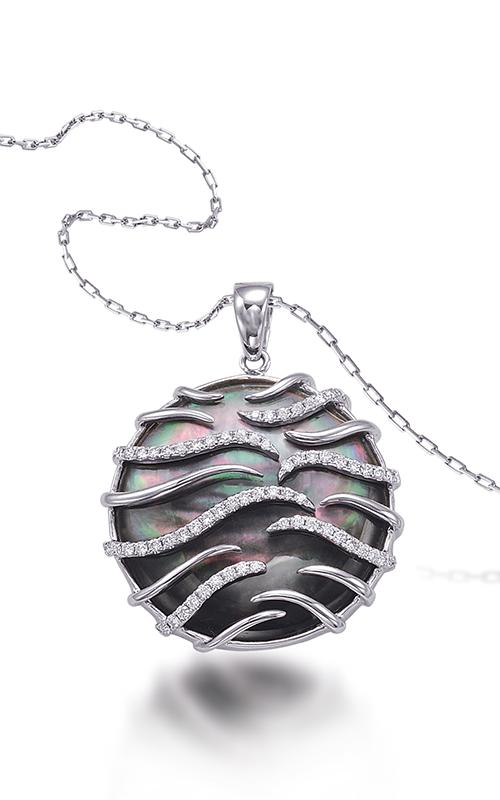 Frederic Sage Natural Shells Necklace P9926K-WGMPB product image