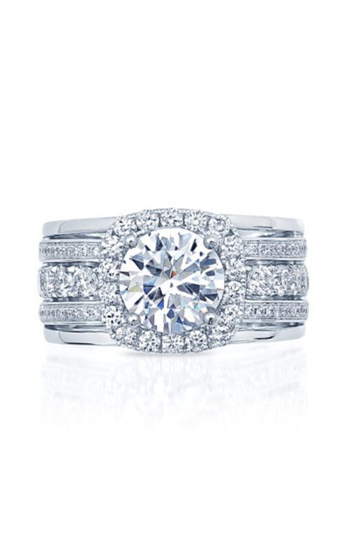 Frederic Sage Halo Engagement ring RM4992-2-W product image