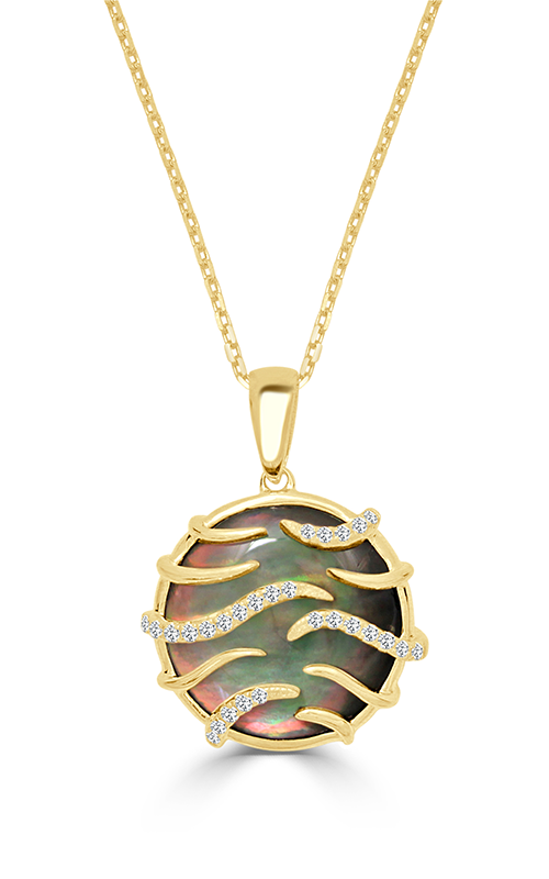 Frederic Sage Natural Shells Necklace P9956K-YGBM product image