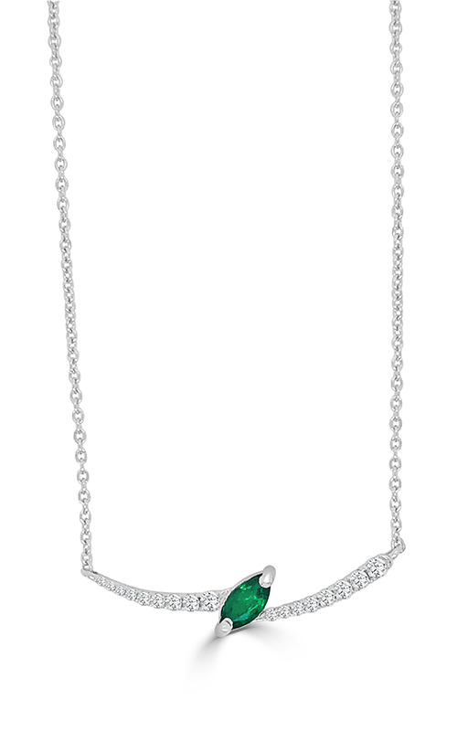 Frederic Sage Gemstones Necklace P3732H-EMW product image