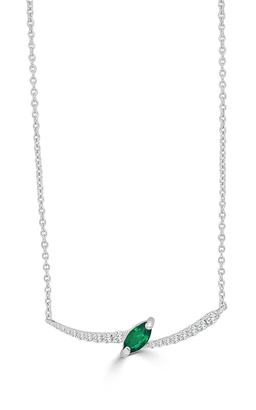 Frederic Sage Gemstones Necklace P3732H-EMW product image