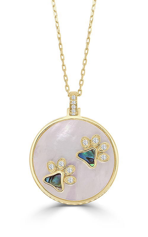 Frederic Sage Gemstones Necklace P3765AW-DB-YA product image