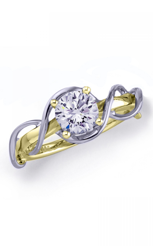 Frederic Sage Unique Engagement ring RM4224-4-WY product image