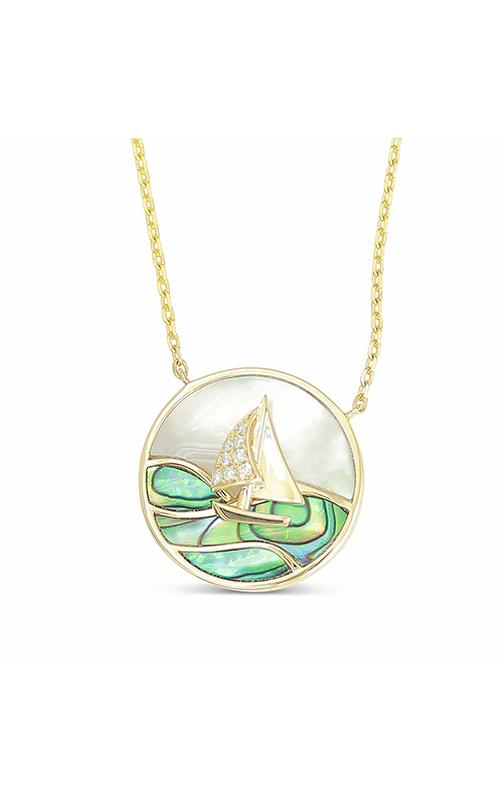 Frederic Sage Gemstones Necklace P3723AW-4-YAM product image