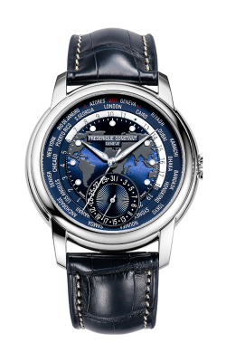 Frederique Constant  Classic Worldtimer Watch FC-718NWM4H6 product image
