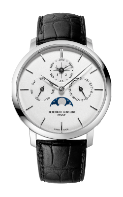 Frederique Constant  Slimline Perpetual Calendar Watch FC-775S4S6 product image