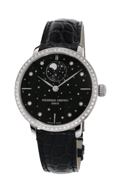 Frederique Constant Manufacture Slimline Moonphase Watch FC-701BSD3SD6 product image