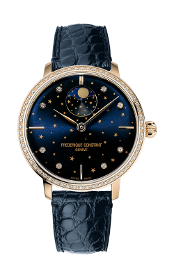 Frederique Constant Manufacture Slimline Moonphase Watch FC-701NSD3SD4 product image