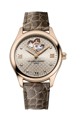 Frederique Constant Ladies Automatic Double Heart Beat Watch FC-310LGDHB3B4  product image