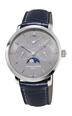 Frederique Constant Manufacture Slimline Perpetual Calendar Watch FC-775G4S6 product image
