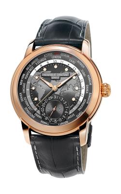 Frederique Constant  Classic Worldtimer Watch FC-718DGWM4H4 product image