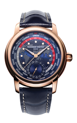 Frederique Constant  Classic Worldtimer Watch FC-718NRWM4H9 product image