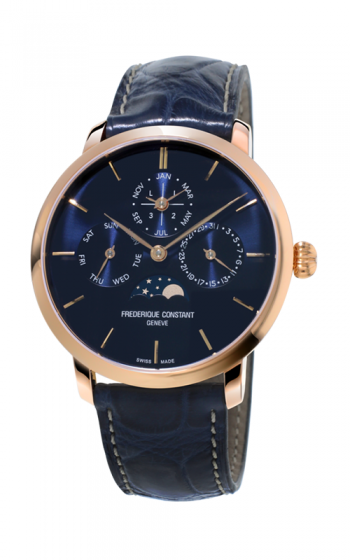 Frederique Constant Manufacture Slimline Perpetual Calendar Watch FC-775N4S4 product image