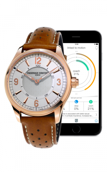 Frederique Constant Horological Smartwatch Gents Notify FC-282AS5B4 product image