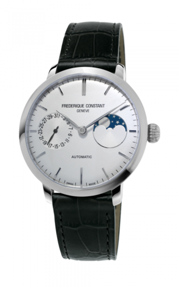 Frederique Constant Manufacture Slimline Moonphase Watch FC-702S3S6 product image