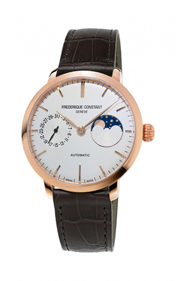 Frederique Constant Manufacture Slimline Moonphase Watch FC-702V3S4 product image
