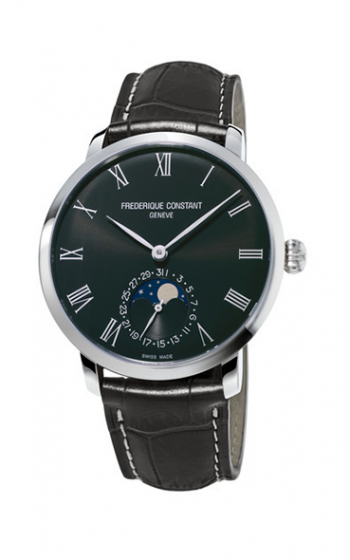 Frederique Constant Manufacture Slimline Moonphase Watch FC-705GR4S6 product image