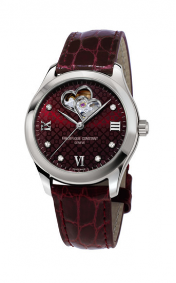Frederique Constant Ladies Automatic Double Heart Beat Watch FC-310BRGDHB3B6 product image