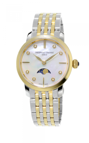 Frederique Constant Slimline Moonphase Watch FC-206MPWD1S3B  product image