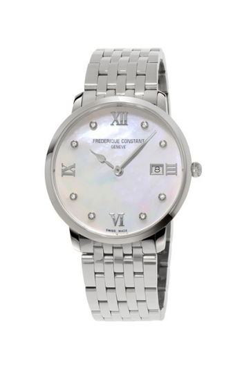 Frederique Constant Classics Slimline Ladies Grande Watch FC-220MPWD3S6B product image