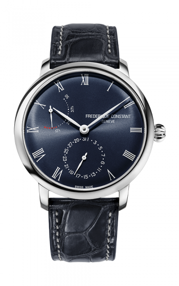 Frederique Constant Manufacture Slimline Power Reserve Watch FC-723NR3S6 product image
