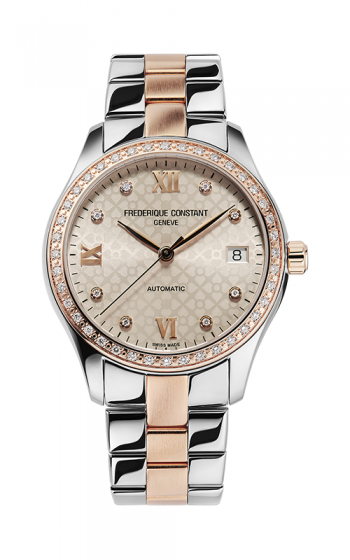 Frederique Constant Ladies Automatic Double Heart Beat Watch FC-303LGD3BD2B product image