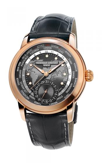 Frederique Constant Manufacture Classic Worldtimer Watch FC-718DGWM4H4 product image