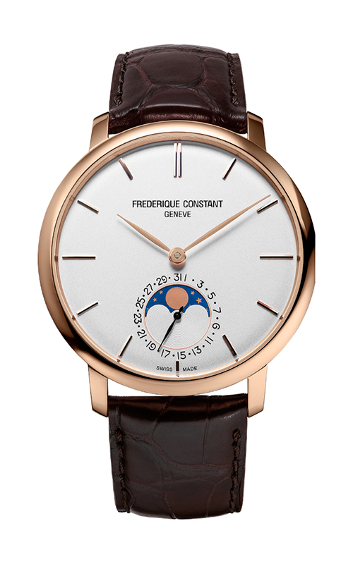 Frederique Constant  Slimline Moonphase Watch FC-705V4S4 product image