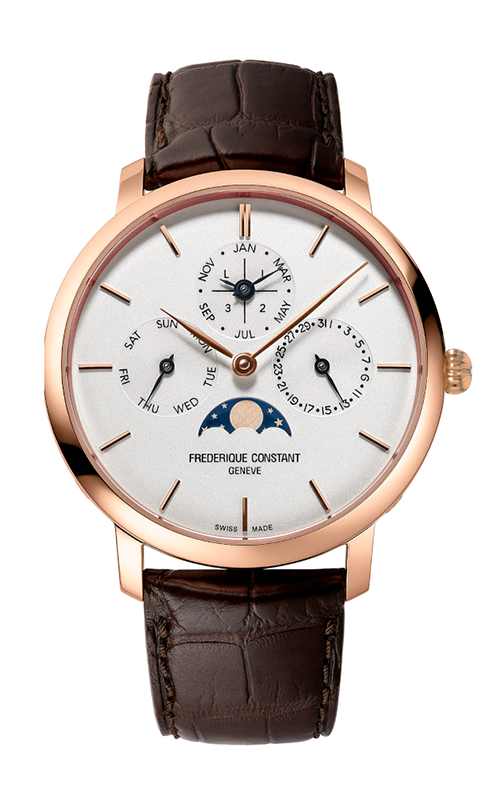 Frederique Constant Manufacture Slimline Perpetual Calendar Watch FC-775V4S4 product image
