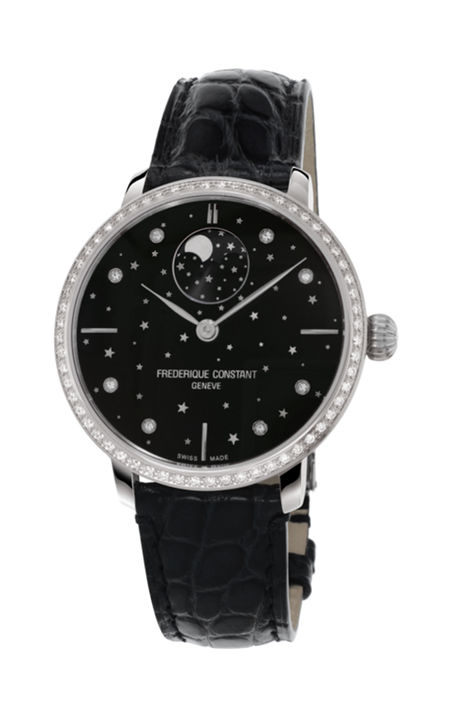 Frederique Constant  Slimline Moonphase Watch FC-701BSD3SD6 product image
