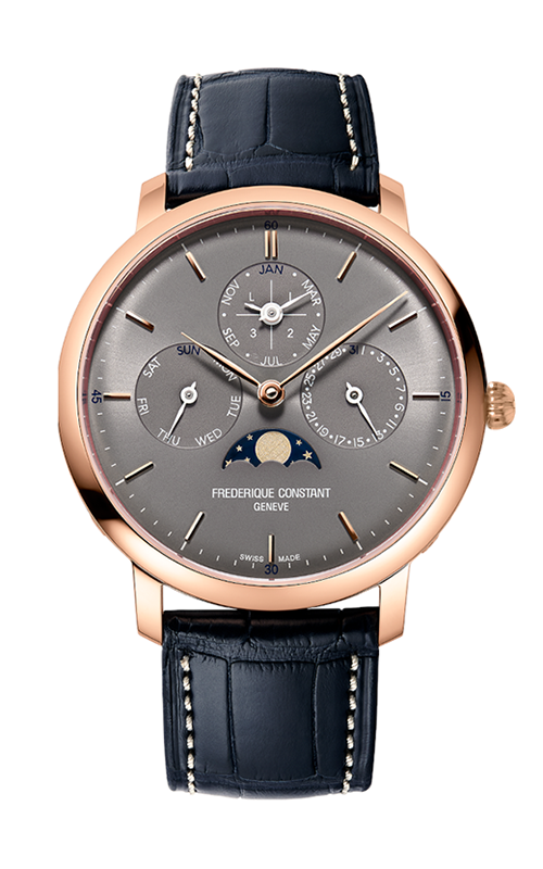 Frederique Constant  Slimline Perpetual Calendar Watch FC-775G4S4 product image