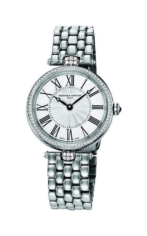 Frederique Constant Quartz Art Deco Round Watch FC-200MPW2ARD6B product image