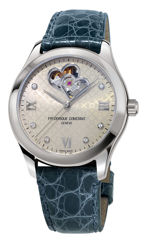 Frederique Constant  Double Heart Beat Watch FC-310LGDHB3B6 product image