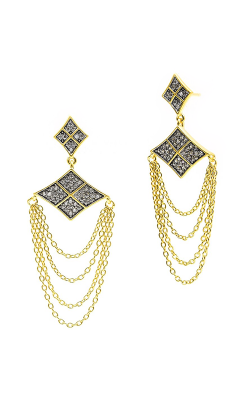 Freida Rothman Contemporary Deco Earring CDYKZE15 product image
