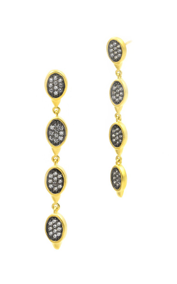 Freida Rothman Contemporary Deco Earring CDYKZE35 product image
