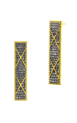 Freida Rothman Contemporary Deco Earring CDYKZE22 product image