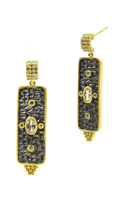 Freida Rothman Contemporary Deco Earring CDYKZE01 product image