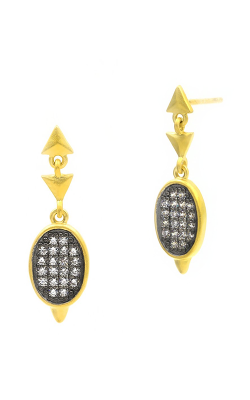 Freida Rothman Contemporary Deco Earring CDYKZE36 product image