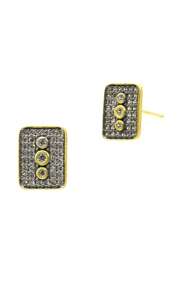 Freida Rothman Contemporary Deco Earrings CDYKZE03 product image