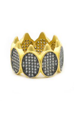 Freida Rothman Contemporary Deco Fashion ring CDYKZR03 product image