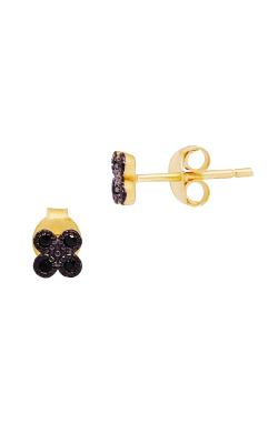 Freida Rothman FR Signature Earrings YRE020173B-BK product image