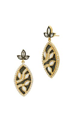 Freida Rothman Fleur Bloom Earrings FBYKZMPE09 product image