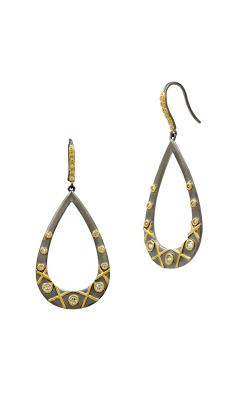 Freida Rothman Lattice Motif Earrings LMYKZE07 product image