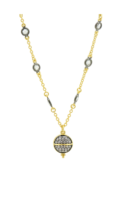 Freida Rothman Textured Ornaments Necklace LMYKZN18-11E product image